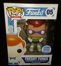 Funko Pop! Vinyl Figure Freddy Superhero #05 USA Funko Shop Exc *UK In Hand*