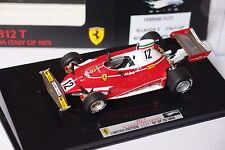 HOT WHEELS F1 FERRARI 312 2 #12 LAUDA ITALY GP 1975 1:43