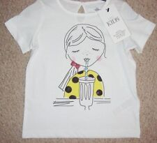 Marks and Spencer Girls' Neck T-Shirts, Top & Shirts (2-16 Years)