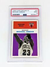1998-99 Fleer Tradition Vintage '61 #23 Michael Jordan PSA 9 Chicago Bulls HOF