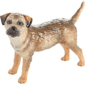 John Beswick Border Terrier Figurine Dogs Themed Hand Painted Ceramic Boxed