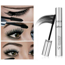 Waterproof Qibest Natural 3D Fiber Mascara Eyelash Long Curling Lashes Extension