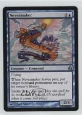 2008 Magic: The Gathering - Morningtide Booster Pack Base 44 Nevermaker Card 0d2