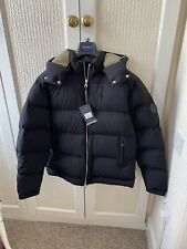 Men's Dunhill Puffer Hooded Jacket Size XL New