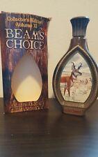 JIM BEAM'S CHOICE Collector's Liquor Bottle James Lockhart Pronghorn Antelope