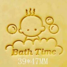 Bath Time Soap Stamp For Handmade Soap Candle Candy Stamp Fimo Stamp