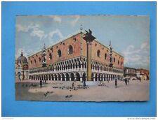carte postale ancienne de Venise: peinture du palais Ducal