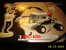 JAMES BOND MOON BUGGY & JAMES BOND FIGURE SET Corgi Classics Collection MIB NEW