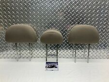 05-12 FORD ESCAPE TRIBUTE REAR SEAT 2ND ROW HEADREST HEAD RESTS BEIGE CLOTH OEM
