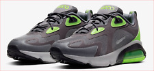 🔥100% Auth Nike Air Max 200 Running Shoe in a Thunder Grey & Green Colorway! 🔥