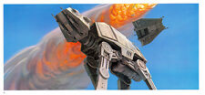 STAR WARS MCQUARRIE EMPIRE - 50 X 15 CM - ILLUSTRATION N°10 PORTFOLIO - VINTAGE