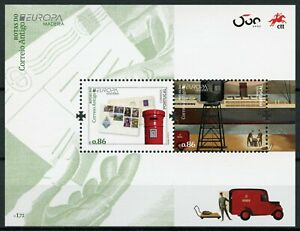 Portugal Madeira Europa Stamps 2020 MNH Ancient Postal Routes History 2v M/S