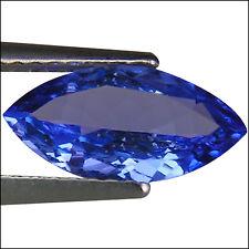 1.28 Ct AA Natural D Block Tanzanite Medium Blue Violet Color Marquise Cut