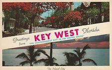 Lam(D) Key West, Fl - Greetings From the Island City - Two Outdoor Views