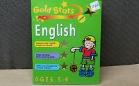 New Gold Stars English Ages 5-6 Learning Workbook Home School Support Skills
