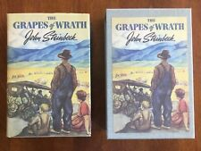 FIRST EDITION LIBRARY THE GRAPES OF WRATH JOHN STEINBECK WITH SLIPCASE