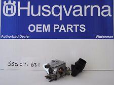 OEM  Husqvarna Poulan PoulanPro Craftsman Carburetor 530071621 Walbro WT-625