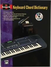 Keyboard Chord Dictionary Book with CD Alfred