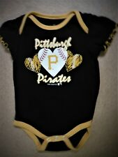 PITTSBURGH PIRATES BASEBALL  one- piece sz 6-9 mo