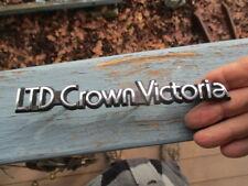 1987 LTD Crown Victoria emblem 1988 1989 Ford rat rod man cave
