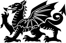 Welsh Dragon Vinyl Decal Sticker for Car/Window/Wall