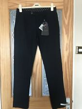 BNWT Ted Baker Women  Navy Utility Trousers 30 R
