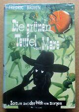 Science Fiction Buch:  Fredric Brown / Die grünen Teufel vom Mars  (Gebr. Weiss)