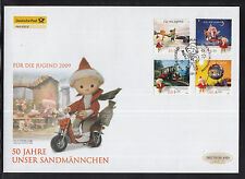 K 01 ) Germany 2009 beautiful Large FDC - 50 years TV show 'Our Sandman'.
