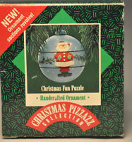 Hallmark - Christmas Puzzle - Revolving Sections -  Keepsake Ornament