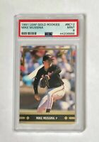 1991 Leaf Gold Rookies Mike Mussina RC PSA 9, card #BC12 HOF