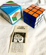 Vintage Wonderful Puzzler Brand Rubix-Cube Style Toy New in Box Gadget Puzzle