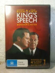 The Kings Speech DVD - Geoffrey Rush, True Story - Helena Bonham Carter