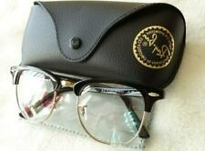 NEW *Authentic* Ray-Ban Clubmaster RX5154 2000 51-21 Eyeglasses - Black And Gold
