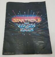 Star Trek II Wrath Of Khan Movie Special Photo Story Book 1982 Paramount 82-5