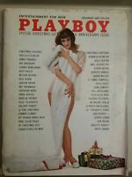 Playboy December 1962 * Good Condition * Free Shipping USA