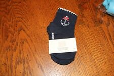 JANIE AND JACK ANCHOR SOCKS-SIZE 12-24M-NWT