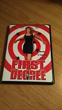 First Degree (DVD, 2002) JAMES RUSSO  RARE CRIME MYSTERY ~ OOP