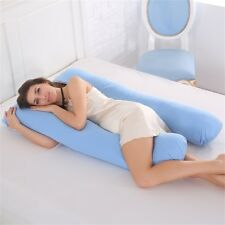 Full Body Pillow, U Shaped Pregnancy Pillow & Maternity Support Belly Contoured