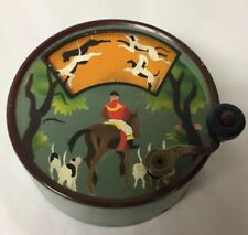 Vintage Music Box - Hunting Song - Dogs Chase Fox - Made In Switzerland