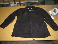 NWT Polartec 300 Military Fleece Cold Weather Jacket Black Made in USA Medium