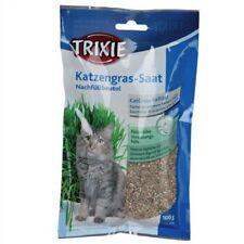 Trixie Grass Barley Seed Refill Bag 100g Instinct Hairball Prevention Cat Kitten