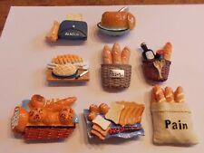 Kühlschrank Magnete Magnet mit verschiedenen Brot und Brötchen für Memo an Tafel