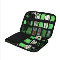 USB Portable Storage Organizer Bag Case Holder For Wire Headset Earphone Travel