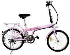 Steel Front & Rear (Full) Suspension Folding Bicycles