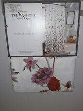 Threshold Fabric Shower Curtain Creeping Floral72in X 72in