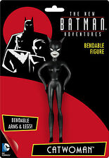 CATWOMAN ANIMATED SERIES new Batman adventures Bendable Super Hero DC Comic toy