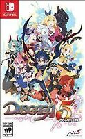 Disgaea 5 Complete Nintendo Switch Brand New Sealed