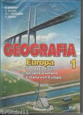 Geografia europa. Per la Scuola media (1) + ATLANTE E TEST D'INGRESSO