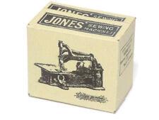 1:12 Dolls house Miniature Old style Jones Sewing machine box--Accessory-craft