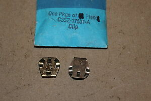 NOS 1963 65 FORD FALCON FAIRLANE 289 WINDSHIELD WIPER MECHANISM RETAINING CLIPS